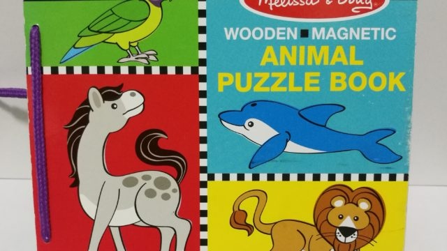 動物パズルブック