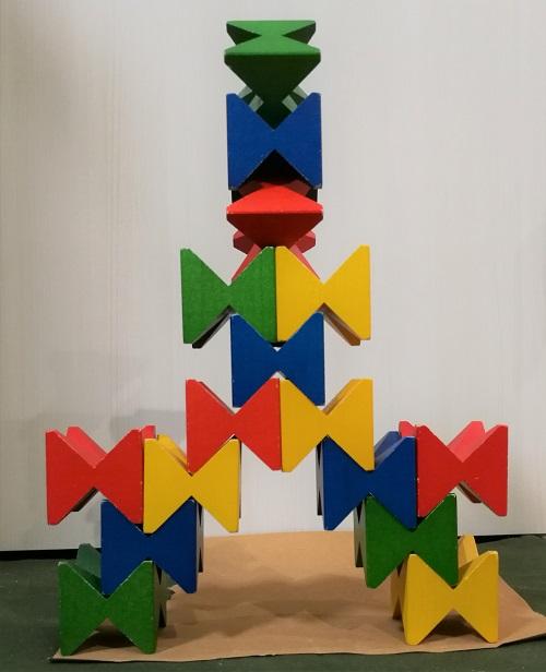 Neaf-Spielで作った塔