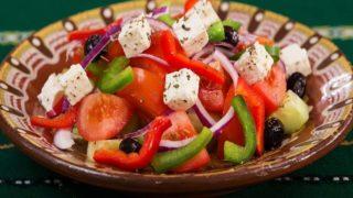 地中海食のプレート