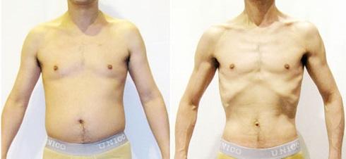 糖質制限による体の変化