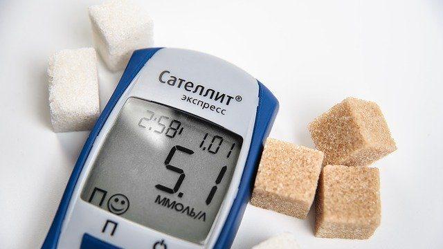 自己血糖測定器と糖質