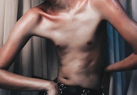 やせ型の身体